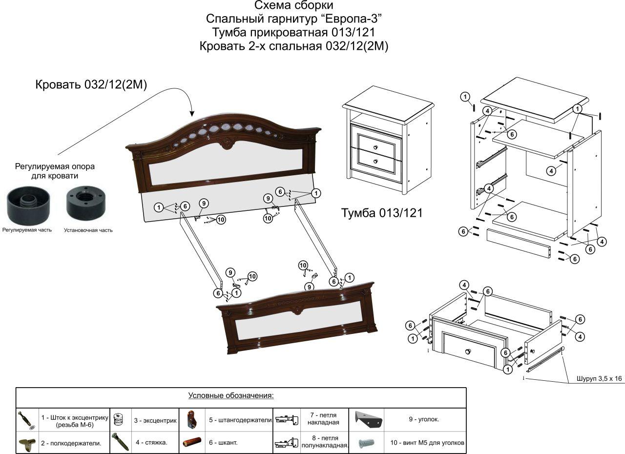 Как сделать кровать Мебель для спальни своими руками чертежи и